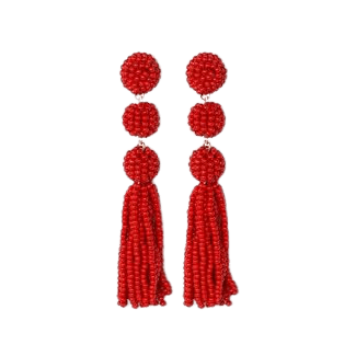 Sugarfix By Baublebar Beaded Ball Drop Tassel Earrings : Target