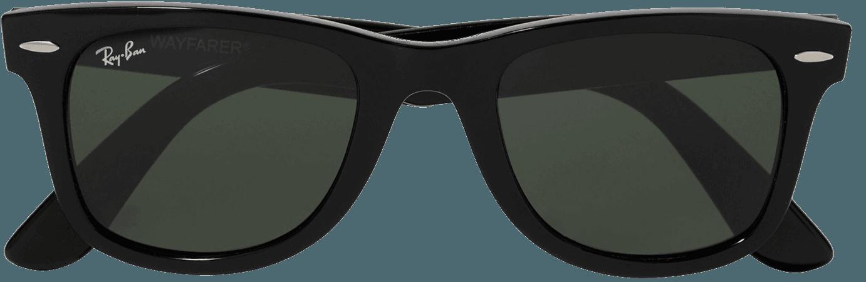 Black Wayfarer square-frame acetate sunglasses | Ray-Ban | NET-A-PORTER