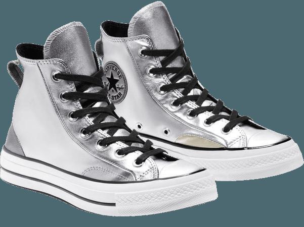 Converse Chuck Taylor® All Star® 70 Metallic High Top Sneaker (Women) | Nordstrom