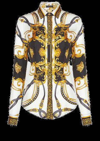 Versace GV Signature Jacquard Top for Women   US Online Store