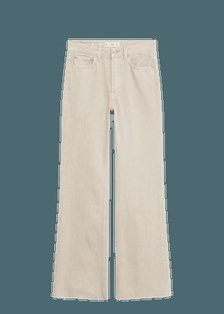 Wide leg high waist jeans - Women | Mango USA