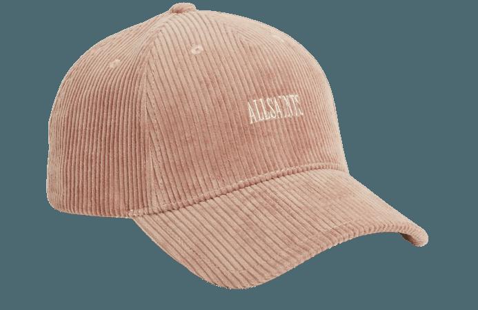 ALLSAINTS US: Womens Willa Baseball Cap (blush_pink)