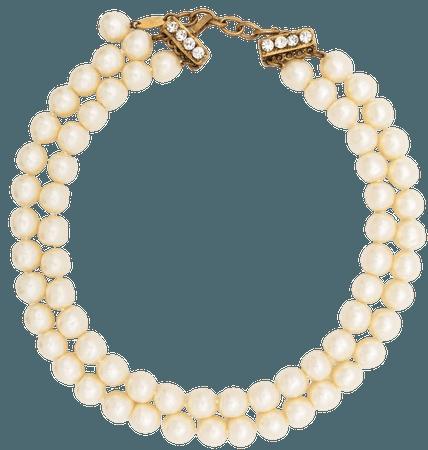 Chanel Pre-Owned Timeless Pärlprytt Halsband Från 1983 - Farfetch