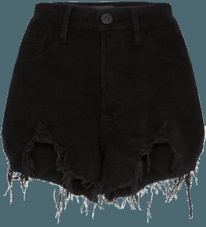 3X1 Blake Distressed Denim Shorts