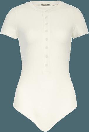 Reformation Leni Front Button Bodysuit | Nordstrom