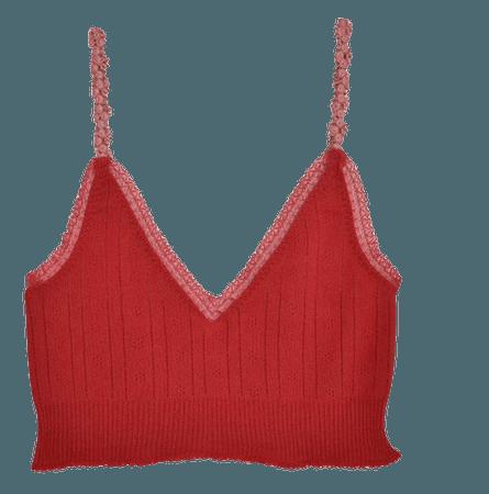 Venise V-neck tank — Pretties