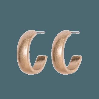 Open Hoop Earrings - Universal Thread™ Antique Gold : Target