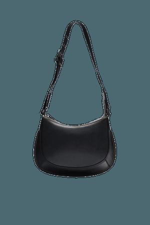 PURPLE® LEATHER SHOULDER BAG | ZARA United States