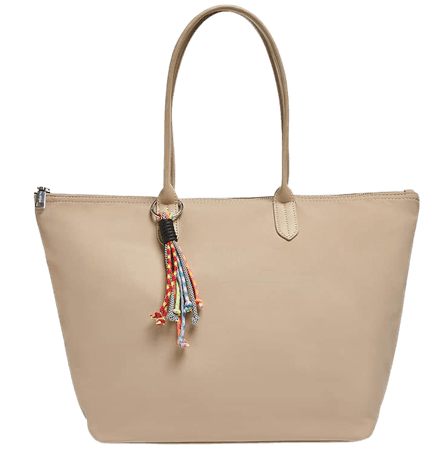Nylon tote bag with handle detail - pull&bear