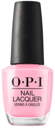 pinking of you OPI nail polish