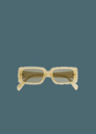 Squared frame sunglasses - Women | Mango USA