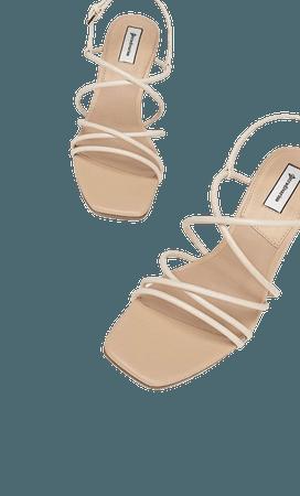 High heel strappy sandals - Women's Just in   Stradivarius United States