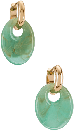 8 Other Reasons Gold & Blue Earring in Blue | REVOLVE