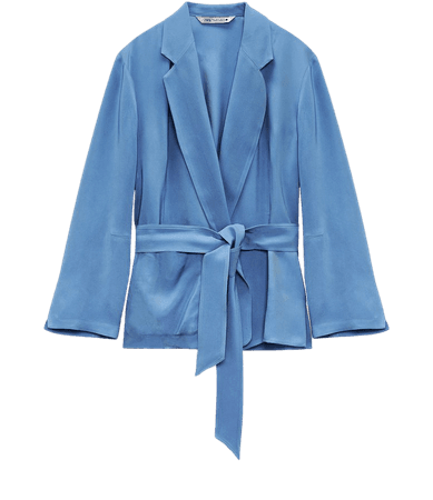 TIED WRAPPED BLOUSE | ZARA United States