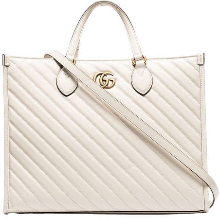 Gucci Marmont Quilted Tote Bag - Farfetch