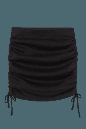 Drawstring-detail Skirt - Black - Ladies | H&M US
