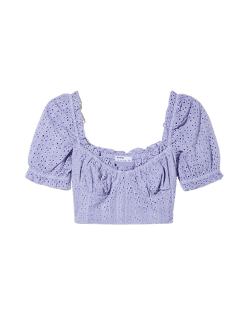 Swiss embroidery blouse with bow - NEW - Woman   Bershka