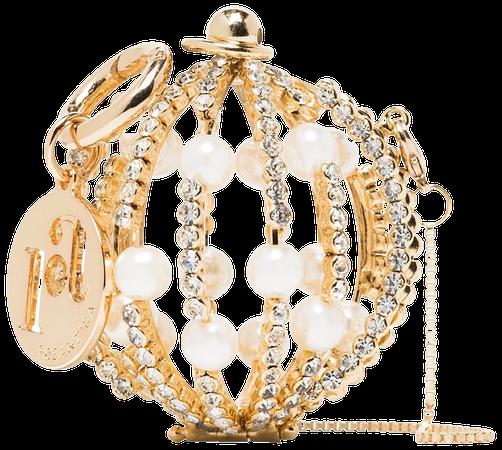 Rosantica baby Sasha sphere mini bag gold B005ORCRIBABY - Farfetch