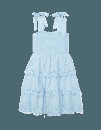 AE Smocked Tiered Mini Dress