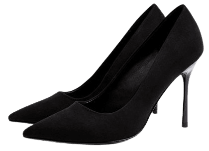 Topshop heeled pumps in black | ASOS