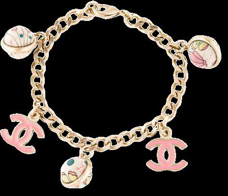 Chanel Fabric Bead CC Charm Bracelet - Bracelets - CHA326197 | The RealReal