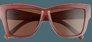 Le Specs Total Eclipse 57mm Square Sunglasses   Nordstrom