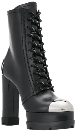 *clipped by @luci-her* black Casadei Rock City 135 platform boots