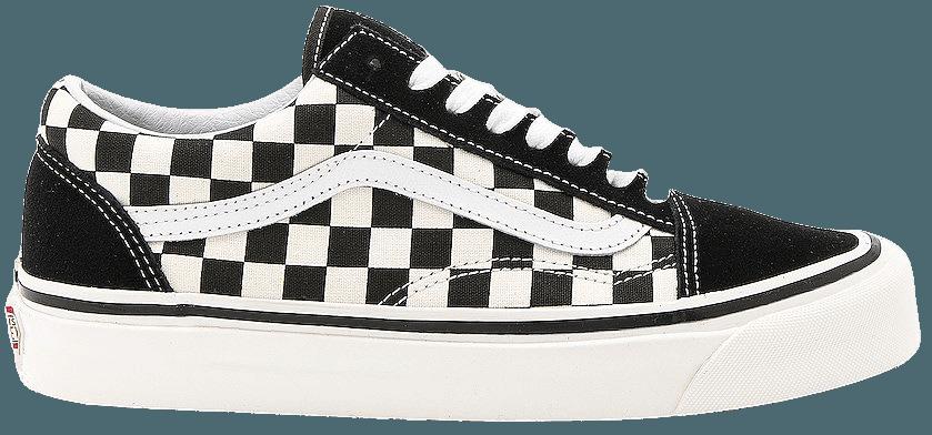 Vans Old Skool in Black & Check | REVOLVE