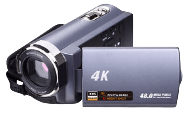 Camcorder Video Camera Blue