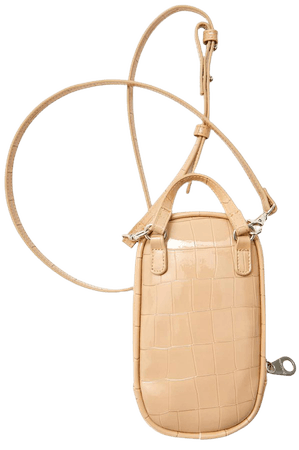 Mock croc smartphone crossbody bag - Women's Just in | Stradivarius United States