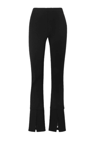 Stretch-jersey Skinny Pants - Black
