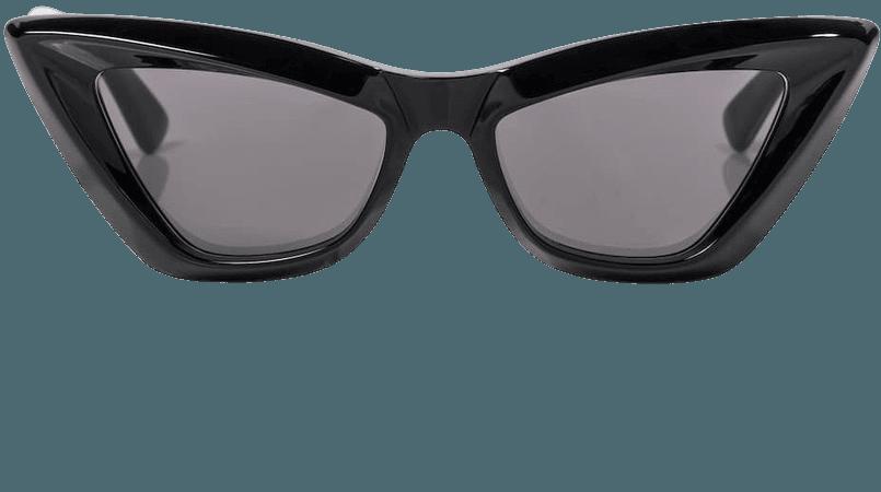 Bottega Veneta - Cat-eye acetate sunglasses | Mytheresa