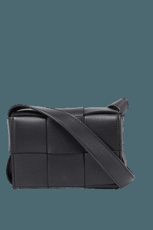 BOTTEGA VENETA - Cassette mini intrecciato leather cross-body bag | Selfridges.com