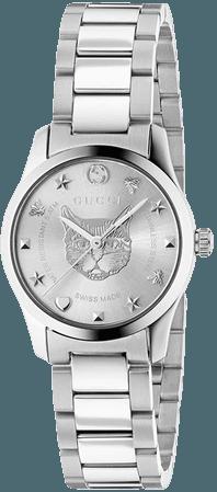 Gucci G-Timeless Watch, 27Mm 530242I1600 Metallic | Farfetch