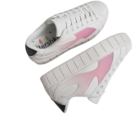 Bershka flatform sneakers with flame detail in white | ASOS