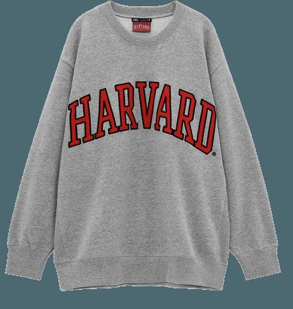 HARVARD ® UNIVERSITY SWEATSHIRT   ZARA United States
