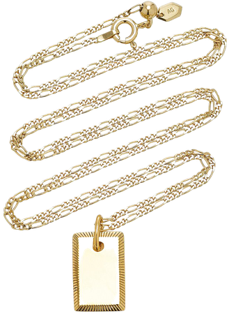 Eliza 18K Gold-Plated Necklace by Maria Black | Moda Operandi