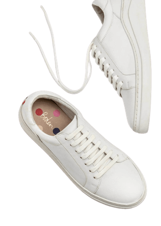 Maria Comfort Sneakers - White | Boden US