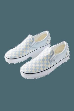 Vans Retro Checkerboard Slip-On Sneaker | Urban Outfitters