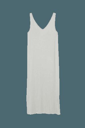 Sleeveless Jersey Dress - Light green - Ladies   H&M US