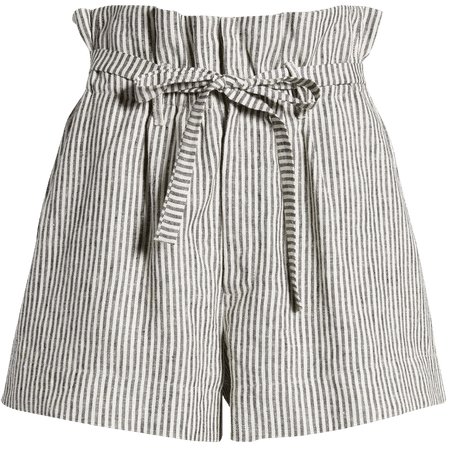 Reformation Theodore Paperbag Waist Shorts   Nordstrom