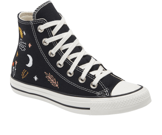 Chuck Taylor(R) All Star(R) It's Okay to Wander Embroidered High Top Sneaker