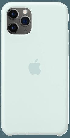 iPhone11 Pro Silicone Case - Seafoam - Apple (UK)