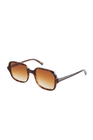 Chimi Voyage Tortoise Shell Square Sunglasses   Urban Outfitters