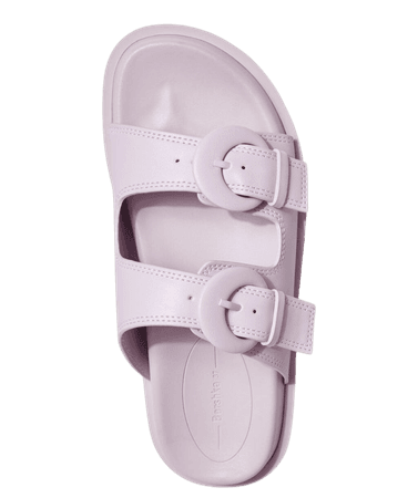 Flat sandals with buckles - Shoes - Woman   Bershka