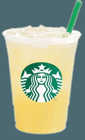 Starbucks Peach Green Tea Lemonade