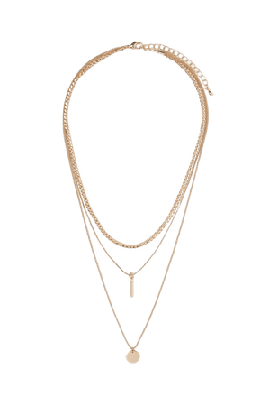 Triple-strand Necklace - Gold-colored - Ladies | H&M US