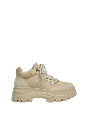 Track sole sneakers - pull&bear