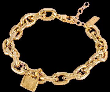 Electric Picks Jewelry Refine Bracelet in Gold | REVOLVE