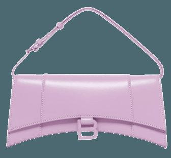 Hourglass Sling Leather Shoulder Bag By Balenciaga | Moda Operandi